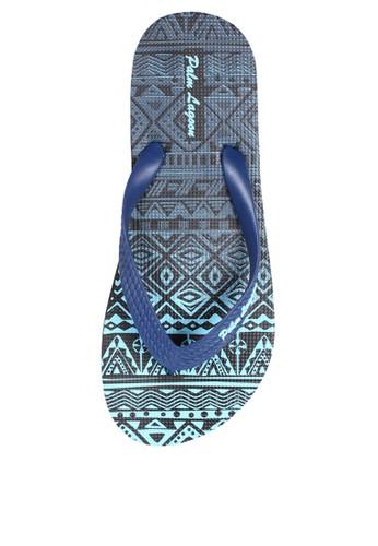 Palm Lagoon blue Sandal & Flip Flop Ethnic Gradient Blue F0E28SHA023448GS_1