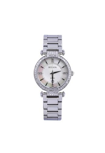 Bonia silver Bonia Rosso - BR154-2352S - Jam Tangan Wanita - Silver 1C953ACBB704CDGS_1