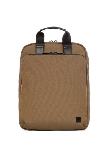 """knomo brown James 15"""" Tote Backpack (Army) C4538AC59083F8GS_1"""