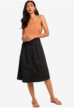 31f121869d7b 33% OFF ZALORA BASICS Basic Poppers Midi Skirt S$ 29.90 NOW S$ 19.90 Sizes  XS S M L XL