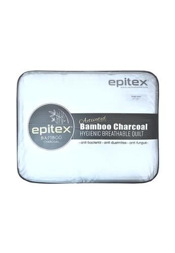 Epitex white Epitex Bamboo Charcoal Quilt - Blanket - Comforter 8DC53HL3844FD1GS_1