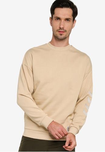 Hummel green Urban Sweatshirt 756D1AA595804CGS_1