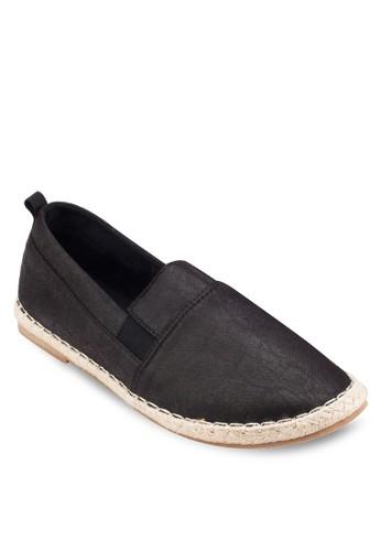 仿皮麻esprit專櫃編懶人鞋, 鞋, 鞋