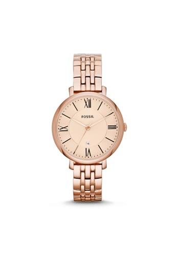 Fossil JACQUELINE淑女型女錶, 錶類, 淑esprit 高雄女錶