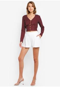 75f2a3b0863 15% OFF Miss Selfridge Red Linen Top RM 189.00 NOW RM 160.90 Sizes 8 10 12  14