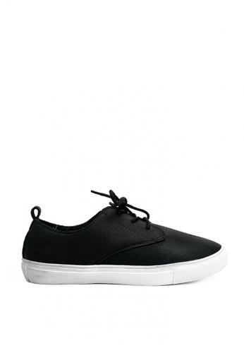 Mario D' boro Runway black Lea Sneakers 6A30ESHCBC0BF5GS_1