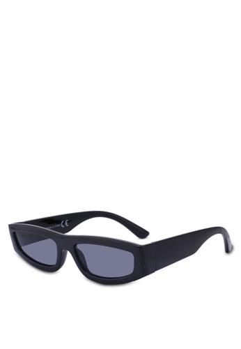 Topman black Black Hollywood Sunglasses AD431GL982F229GS_1