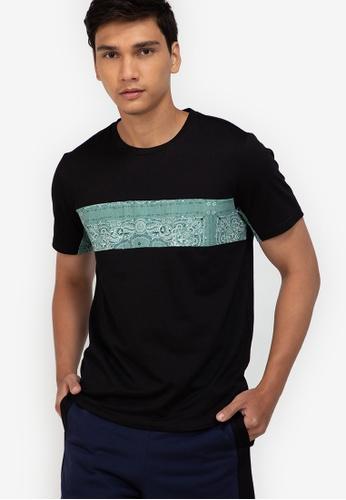 ZALORA BASICS multi Panelled T-Shirt 14788AA8248FF0GS_1