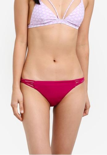 Billabong pink Sol Searcher Tropic Bikini Bottom BI783US0S99EMY_1