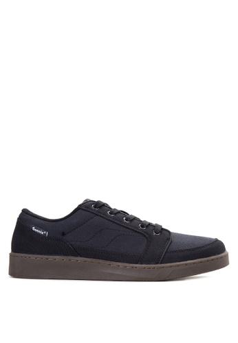 Sonnix black Bane  CS Q217 Men's Lace Up Sneaker Shoes SO490SH73ZUKPH_1