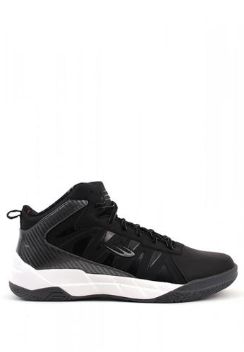 World Balance black All Pro MS Sneakers C5E3CSH1B87DA6GS_1