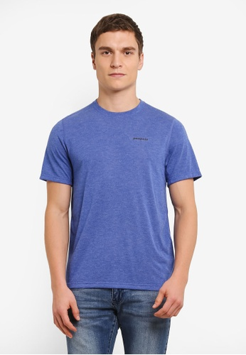 Patagonia blue Short Sleeve Nine Trails T-Shirt PA549AA0SDT1MY_1