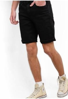 【ZALORA】 水洗直筒窄管牛仔褲