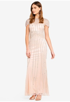 c47d7d0911c 63% OFF Goddiva Sunray Hand Embellished Maxi Dress S  219.90 NOW S  81.90  Sizes 16
