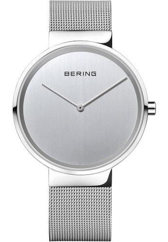 Bering silver Bering Classic 14539-000 39 mm Men's Watch E9B1FAC09E8D57GS_1