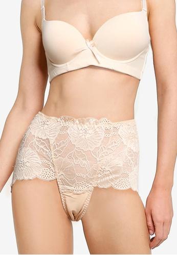Impression brown Maxi Lace Panties 5006EUSA7C475FGS_1