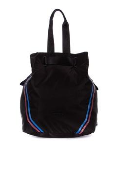 74d46cdc6 Hedgren black Advance Backpack and Shoulder Bag 507CFACFA21843GS_1