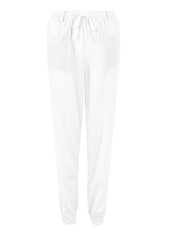 MARKS & SPENCER white Linen Rich Ankle Grazer Peg Trousers 503F1AAEC31E26GS_1