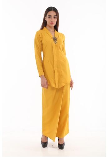 Amar Amran yellow and gold Baju Kebaya Rokiah D5CA5AAE05FA4AGS_1