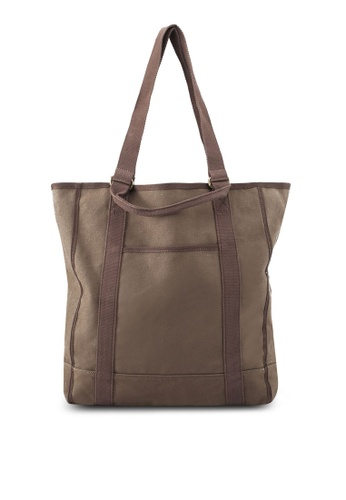 J.Crew brown Garment Dyed Tote 11D36AC297E317GS_1