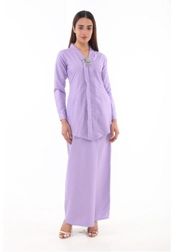 Amar Amran purple Baju Kebaya Rokiah 756A6AA2E0244BGS_1