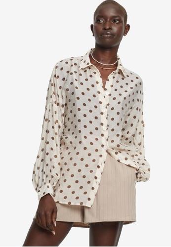 St MRLO beige Avenue Shirt B92AEAAA4E61B9GS_1