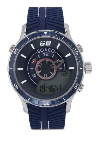 SO&CO blue Monticello 5035.2 Watch 0704FAC51987F2GS_1