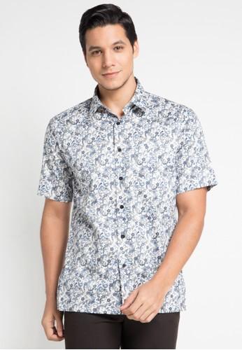 GQ MEN'S WEAR multi Casual Short Sleeve Shirt B3BAFAA0E367EFGS_1
