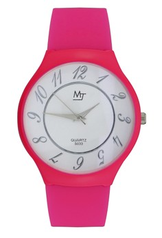 MJ Unisex Casual Analog Watch S033