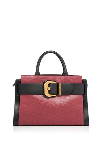 Braun Buffel red Farrah Tote Bag 2F515AC8C161B7GS_1