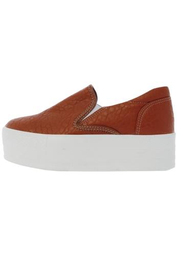 Maxstar C7 50 Synthetic Leather White Platform Slip on Sneakers US Women Size MA168SH46DJDHK_1