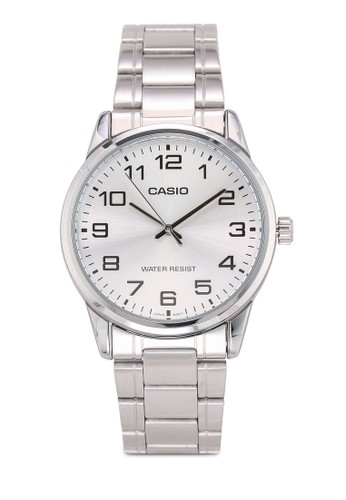 Casio silver Casio Jam Tangan MTP-V001D-7BUDF Silver F521CAC905D87AGS_1