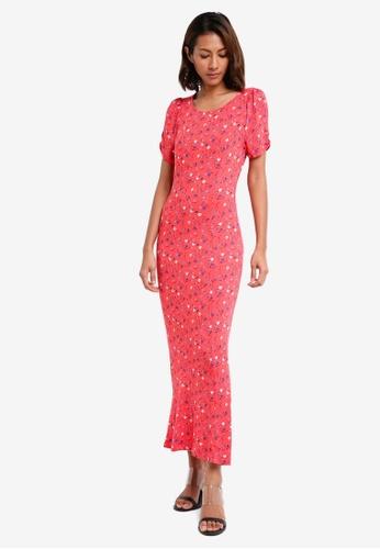 Free People red Caroline Maxi Dress 8A5D9AA9B7551BGS_1