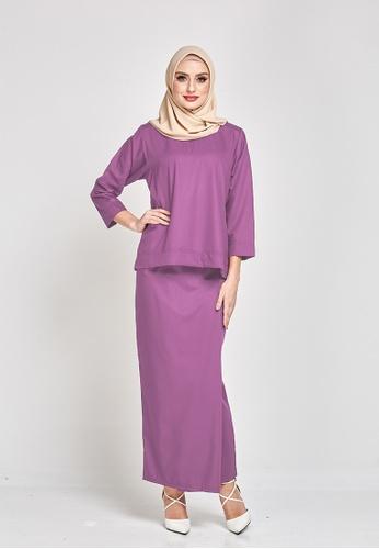 MOTHER & CHILD purple Qasimah Kurung Kedah Pesak 66AD5AA5342CBFGS_1