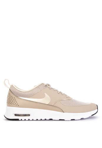 Nike beige Womens Nike Air Max Thea Shoes 082B0SH38FAAEFGS1