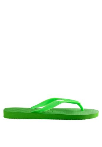 Havaianas green Top Flip Flops 531DDSH1A116F3GS_1