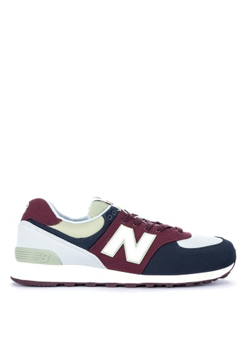 New Balance multi 574 Classics Lifestyle Shoes F8875SH82BA846GS_1