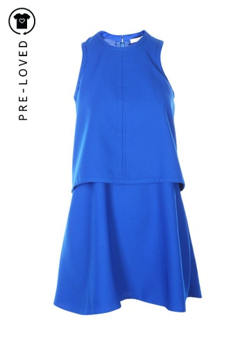 Carven blue Pre-Loved carven Sleeveless Dress 3CF48AA03D7F6BGS_1