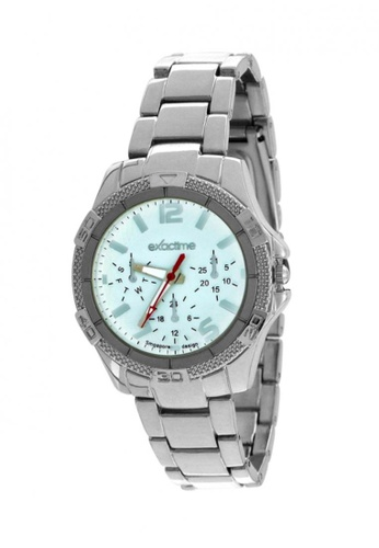 Dooka silver Exactime Singapore Design Men's Stainless Steel Strap Watch H0608  DO079AC12MCHPH_1