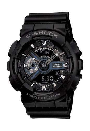CASIO black Casio G-Shock Black Resin Watch A61D7AC3029694GS_1