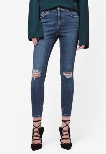 Petite MOTzalora 鞋評價O 刷破 Jamie 牛仔長褲, 服飾, 服飾