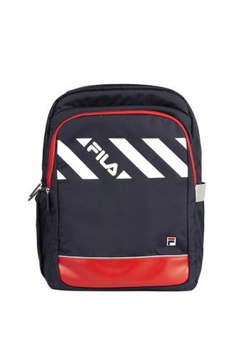 FILA navy FILA KIDS Colour Blocks Backpacks 318E6KC6DA212AGS_1