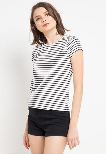 FAMO white and multi Ladies Tshirt 2901 B08DBAA15FB0C0GS_1