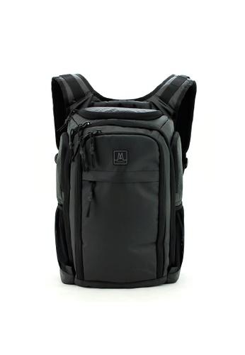 MORAL black Reeves Backpack - Matt Black 6BD4EACFE84D34GS_1