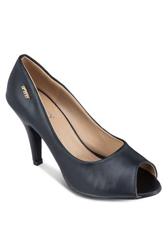 燙金魚口高zalora 折扣碼跟鞋, 女鞋, 厚底高跟鞋