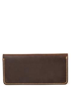 COLE Long Bi-fold Minimalist Wallet