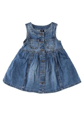 GAP blue Vintage Denim Dress 5661DKA4487537GS_1