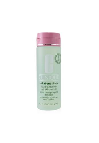 CLINIQUE CLINIQUE - All About Clean Liquid Facial Soap Oily Skin Formula - Combination Oily to Oily Skin 200ml/6.7oz 0D01BBE075518CGS_1