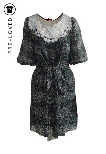 Vivienne Tam blue Pre-Loved vivienne tam Lila Paint Dress 5B807AA4640981GS_1
