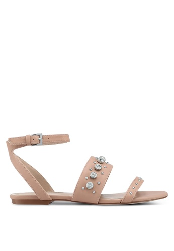 Miss KG brown Reach Sandals 3E2BCSHF035445GS_1